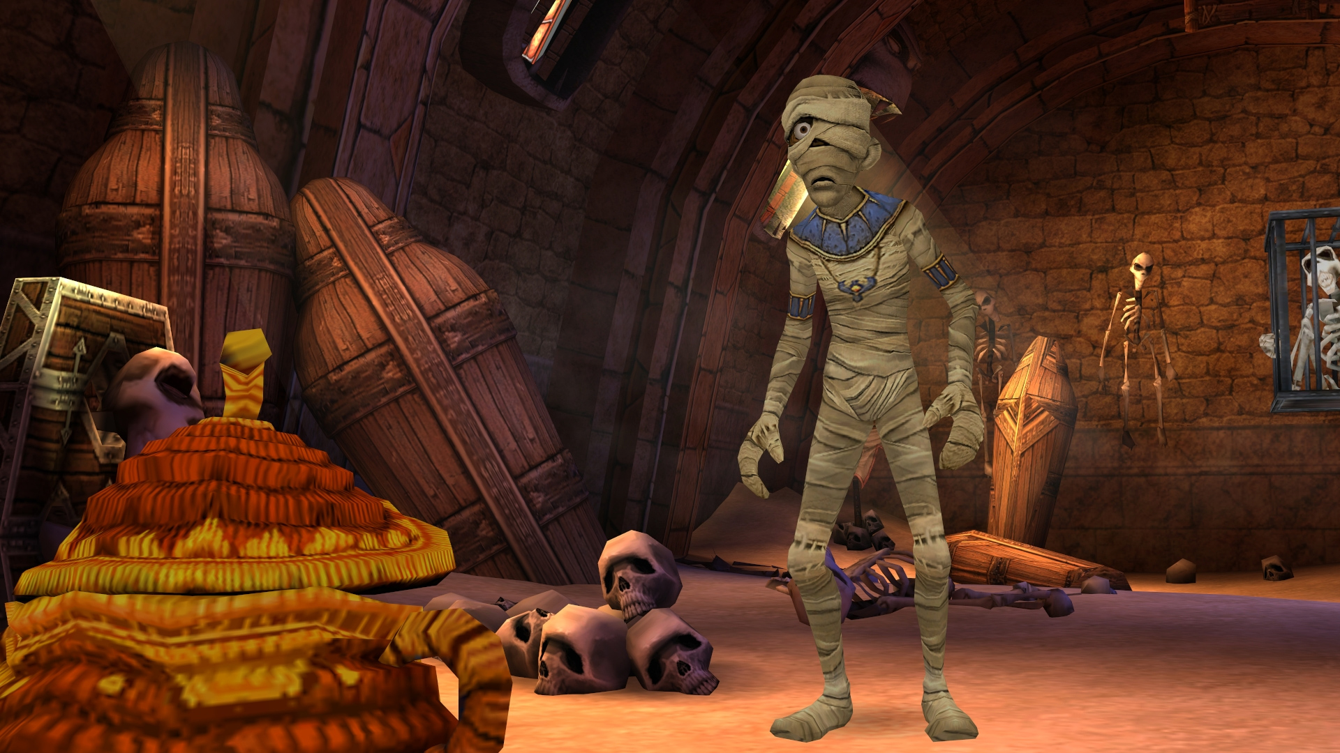 Sphinx and the Cursed Mummy is coming back on PC screenshot