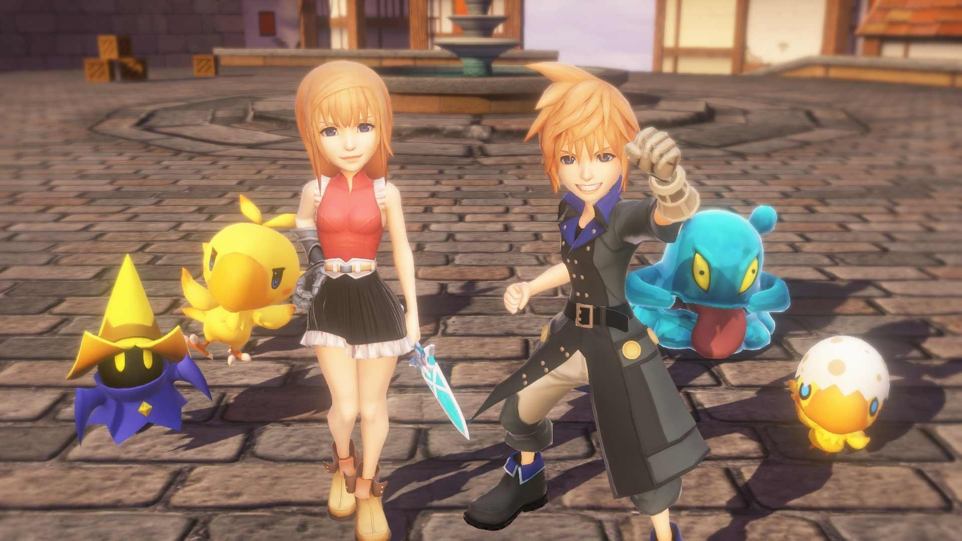 World of Final Fantasy is heading to PC screenshot