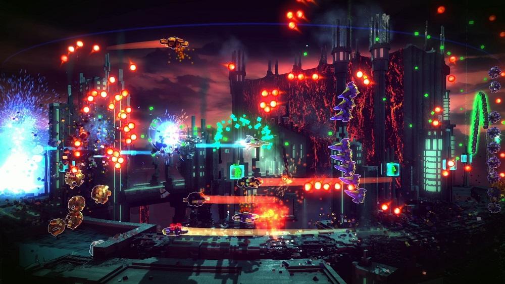 Resogun developers Housemarque leaving arcade shooter genre screenshot
