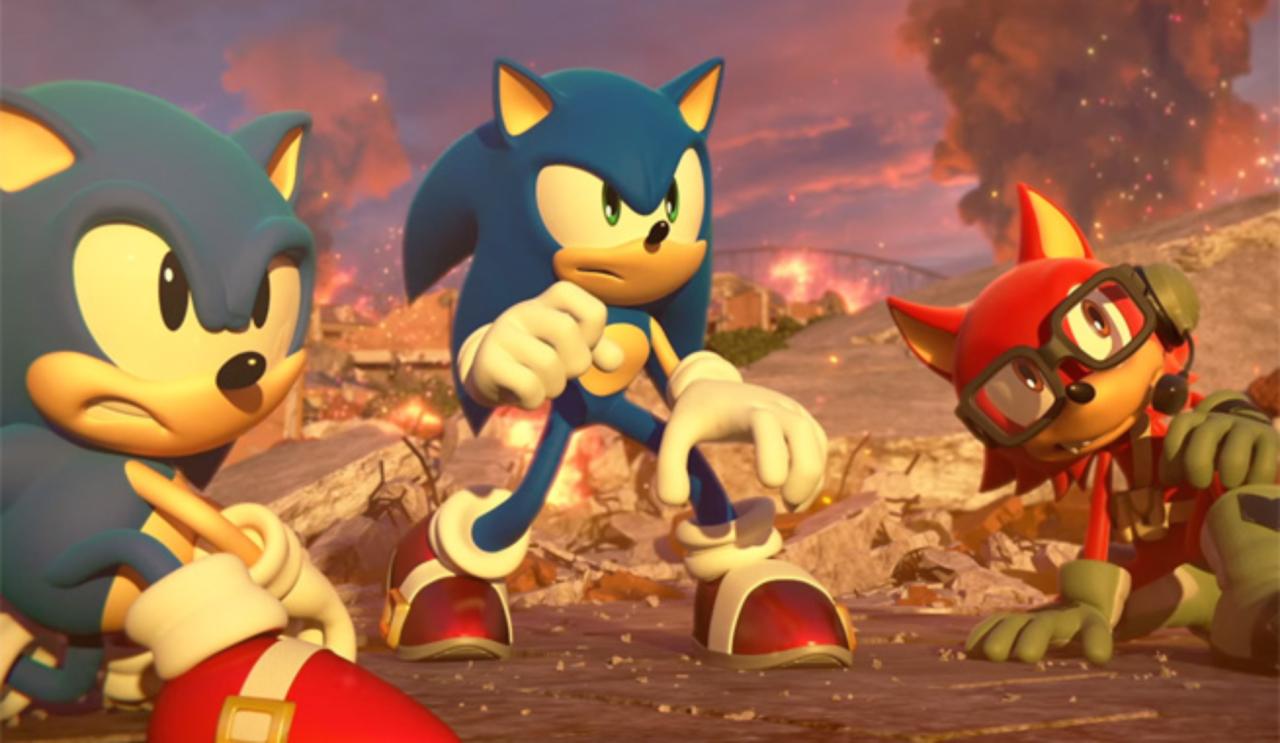 Nintendo Download: Sonic Forces screenshot