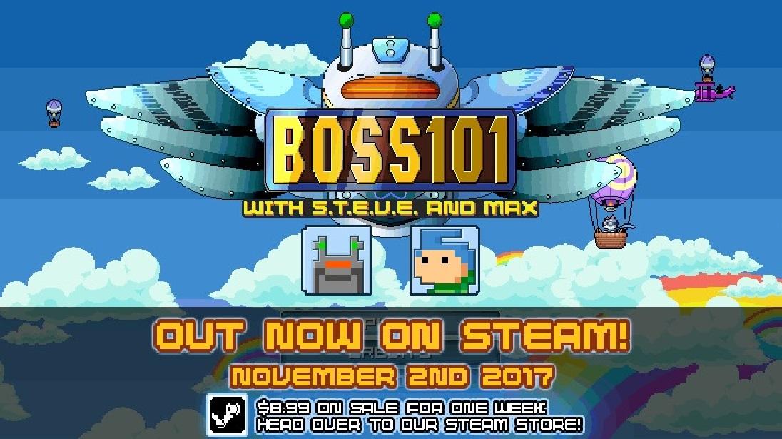 Giveaway: Boss 101 (Steam) from Dtoider Donley!!!! screenshot