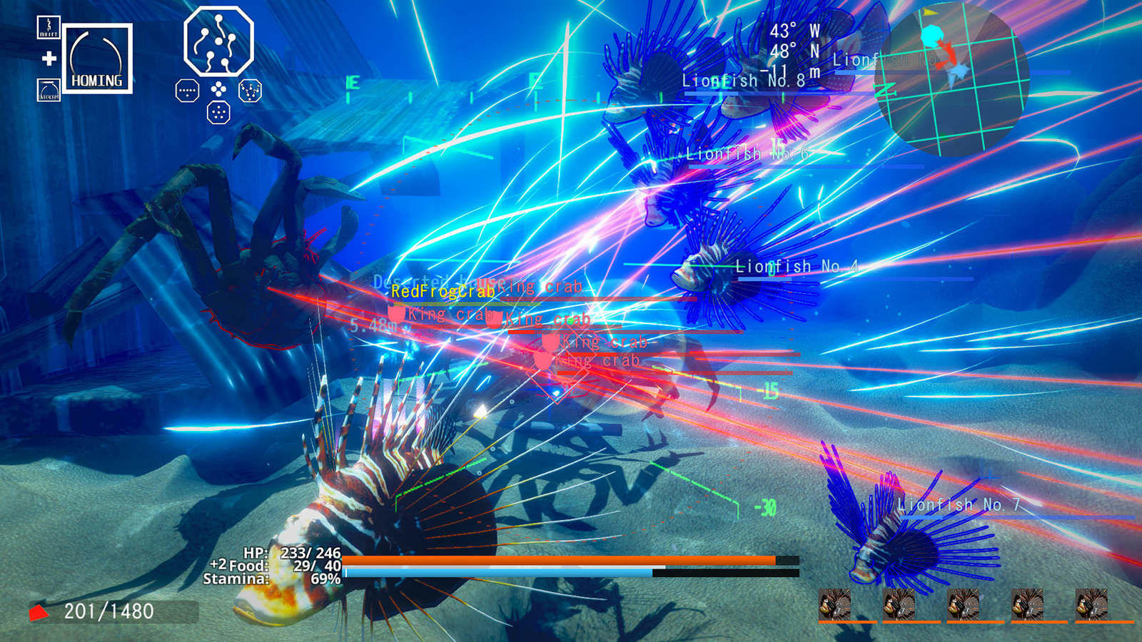 Ace of Seafood brings laser-firing fish to PS4 next week screenshot