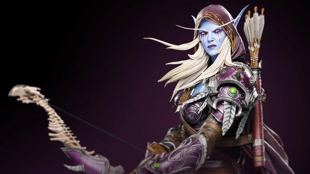 Blizzard unveil premium statue of Warcraft's Sylvanas screenshot