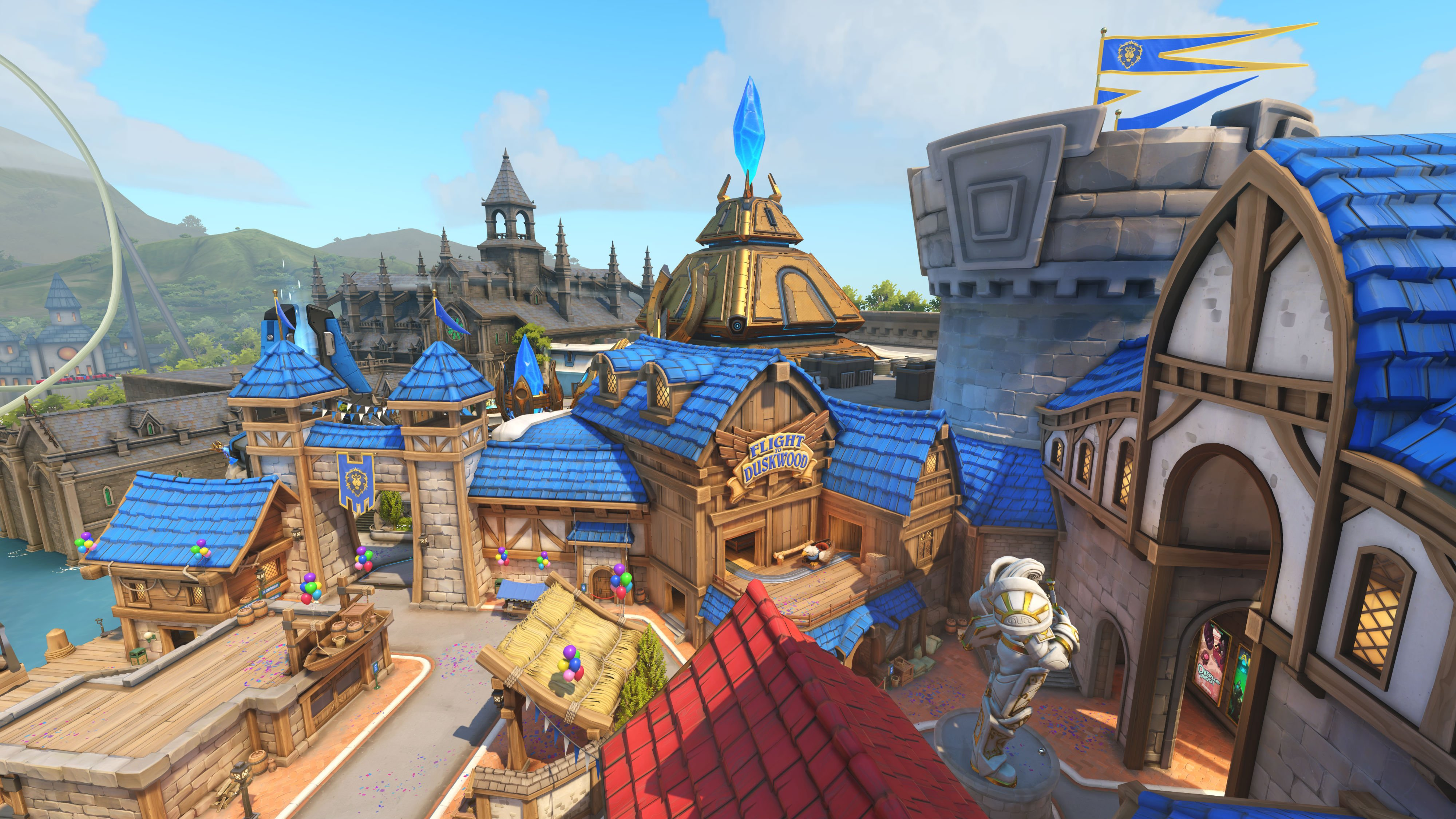 Ill happily play overwatchs new blizzard world map in a rotation blizzard world will arrive sometime in early 2018 and as always will be included in the base game as free content gumiabroncs Image collections