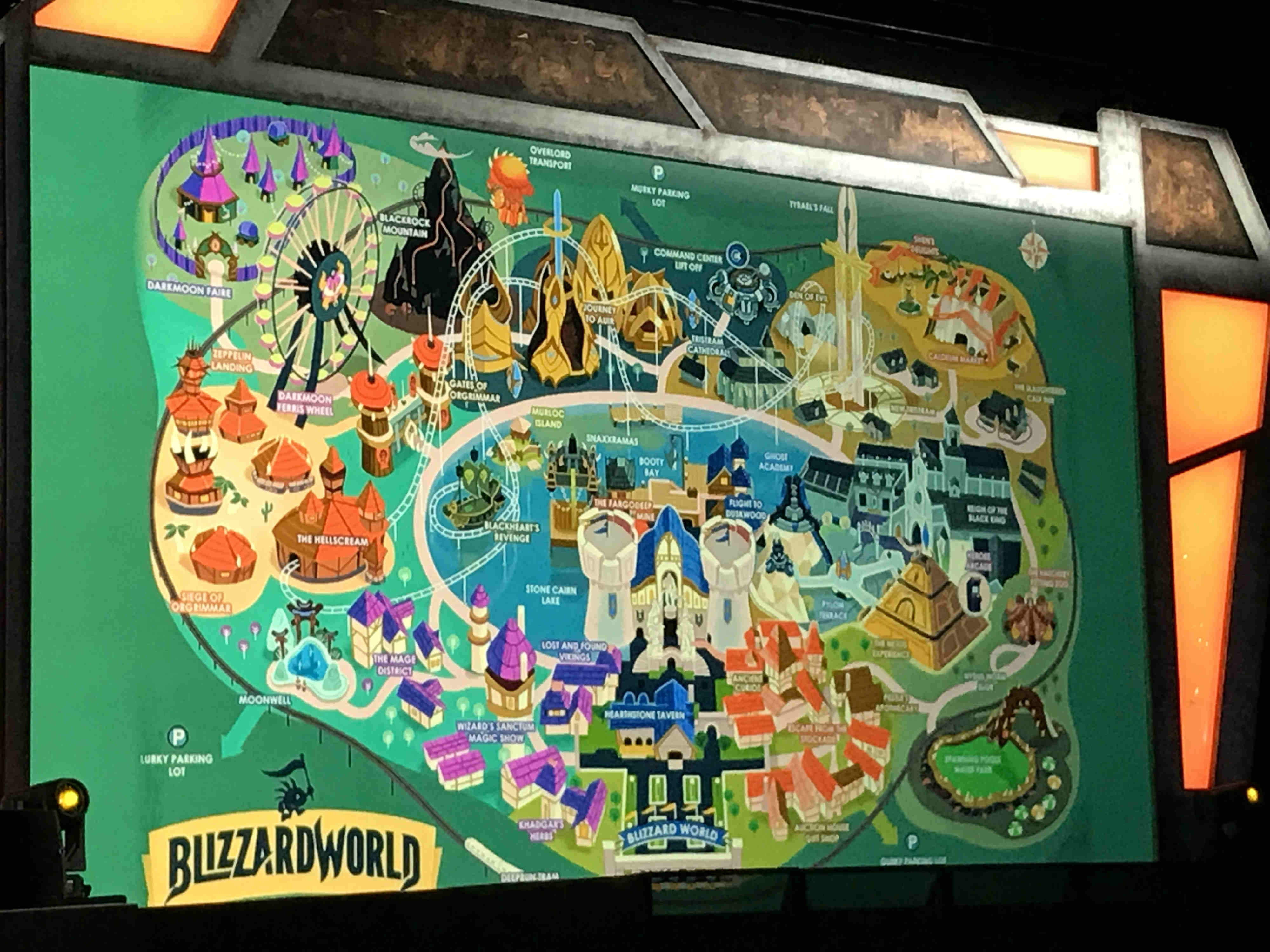 I'll happily play Overwatch's new Blizzard World map in a rotation