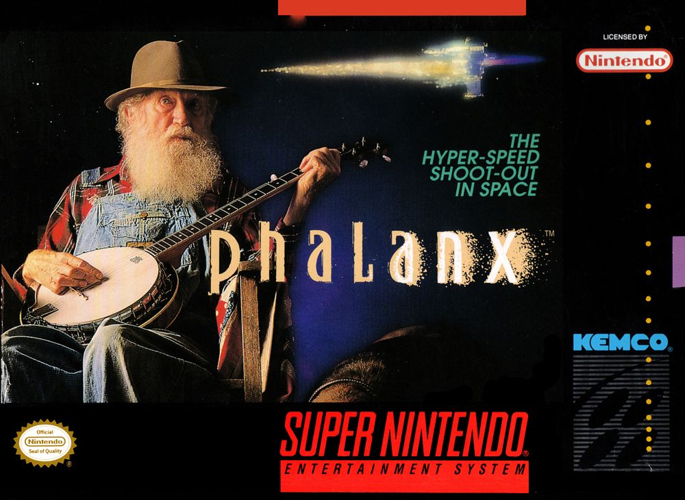Discovering the mystery behind the Phalanx cover art screenshot