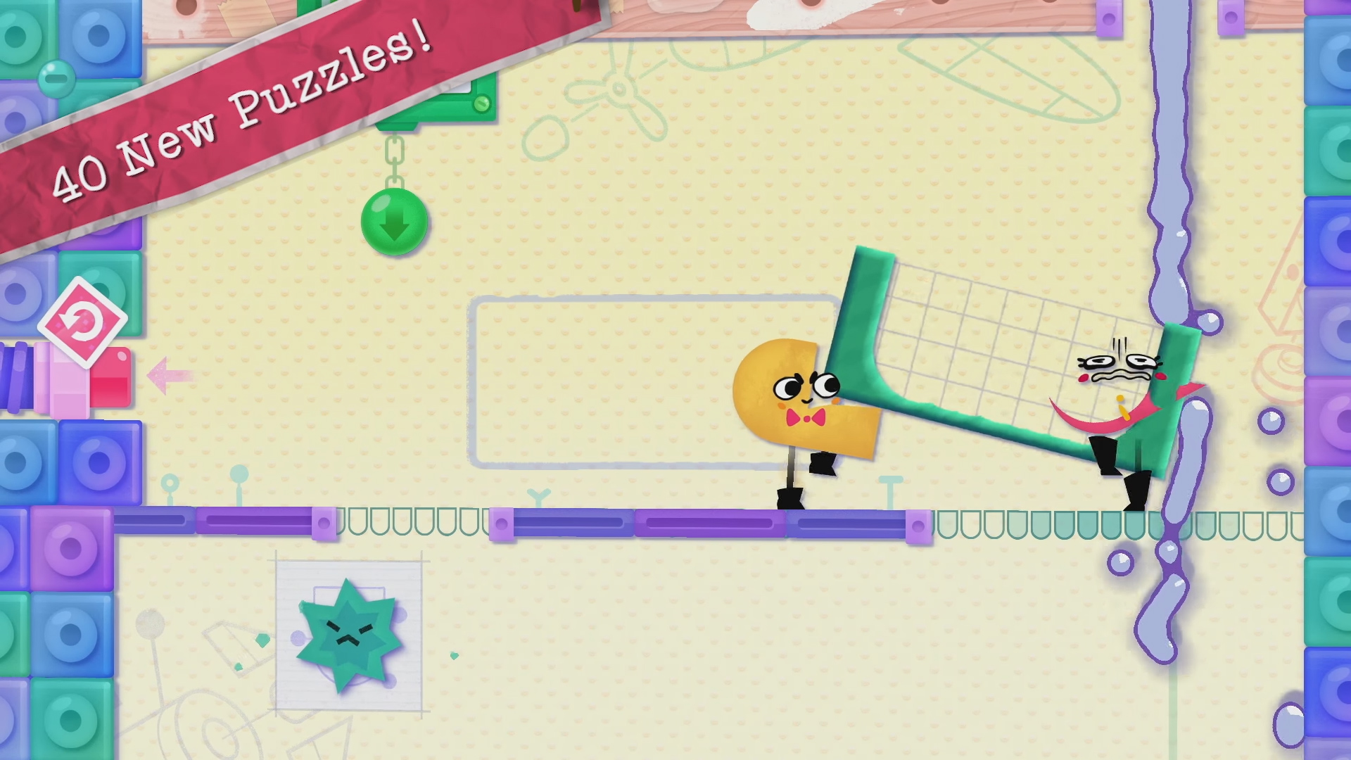 More Snipperclips is a very good thing screenshot