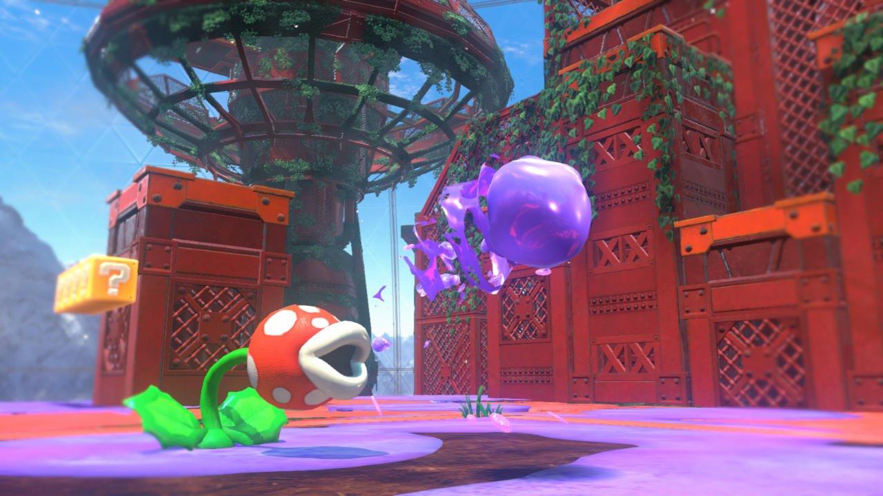 Bizarre Super Mario Odyssey glitch allows Cappy to kill Mario screenshot