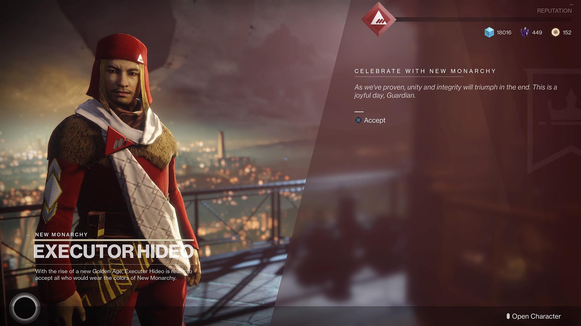 New Monarchy reigns supreme in Destiny 2 screenshot