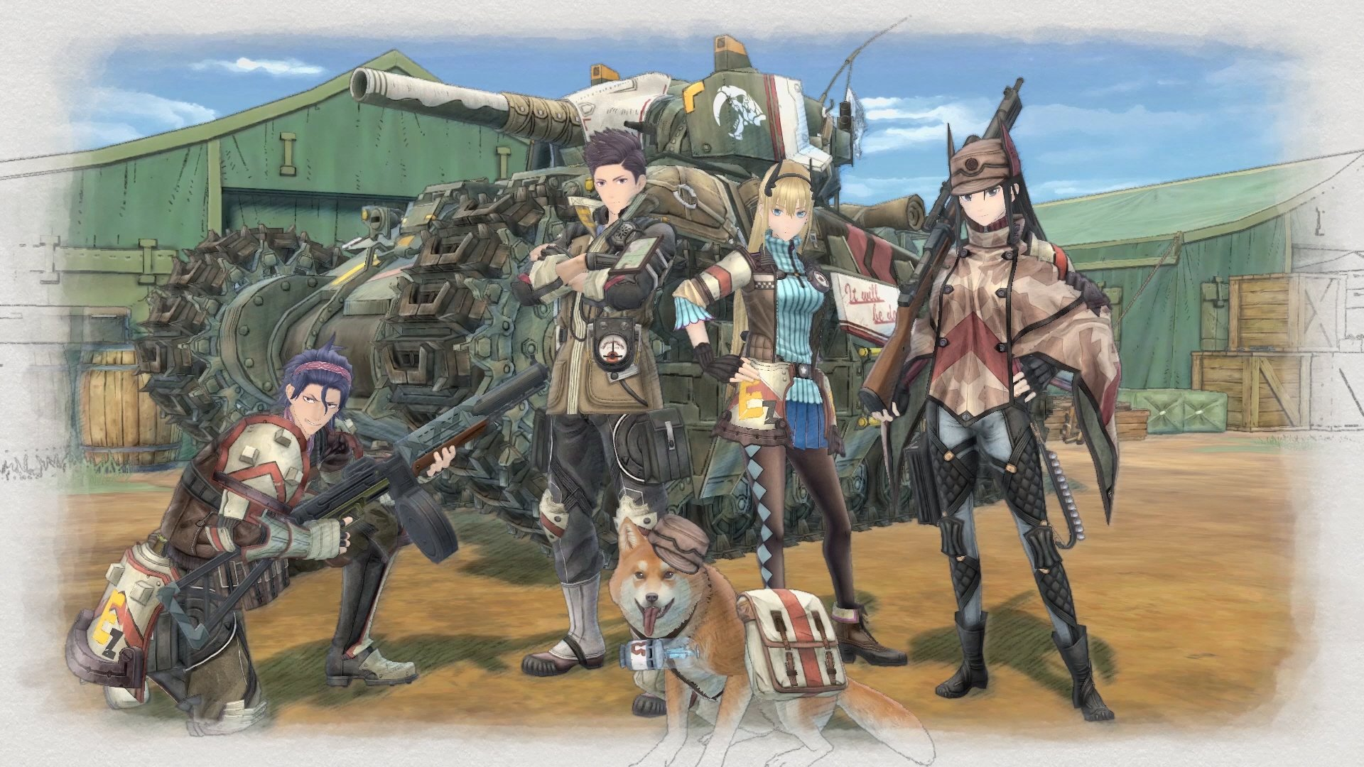 Valkyria Chronicles 4 announced for 2018, coming to PS4, Switch, Xbox One screenshot