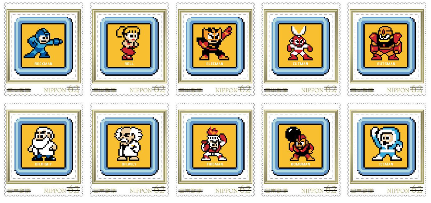 Japan is getting 30th anniversary Mega Man stamps, so you can mail all those new Rockman games out screenshot