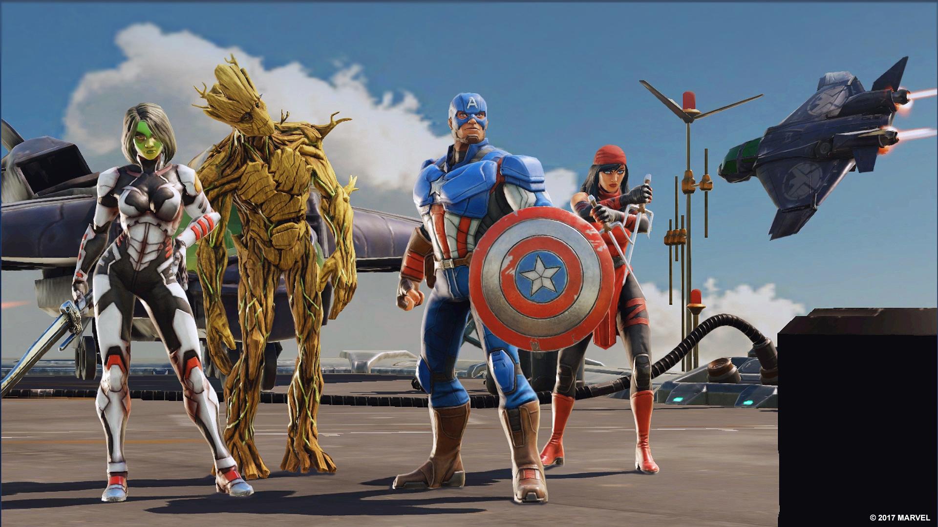 Marvel Strike Force is the new squad-based superhero RPG screenshot