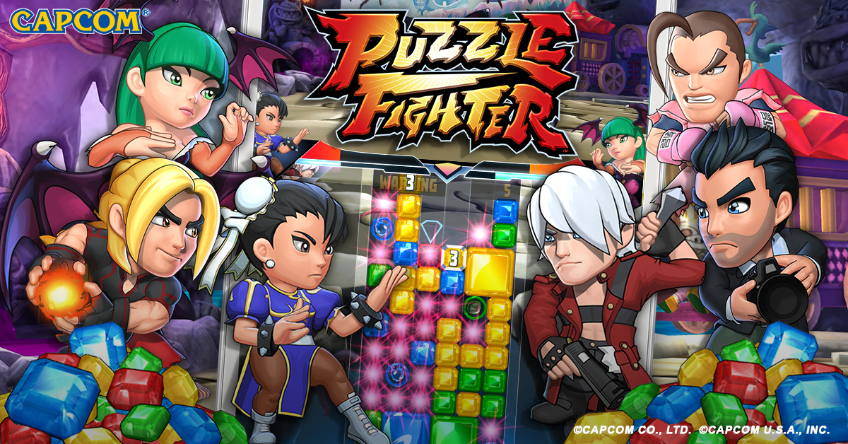 Puzzle Fighter is out this week for iOS and Android screenshot
