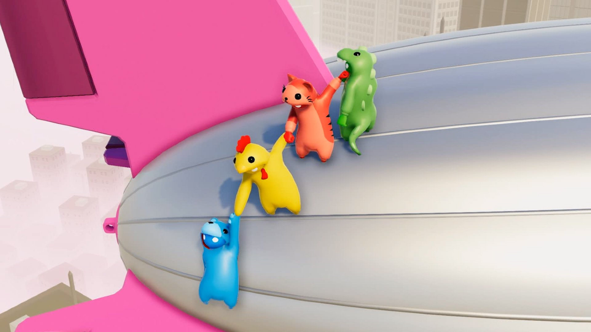 Party brawler Gang Beasts hits PS4 in two weeks screenshot