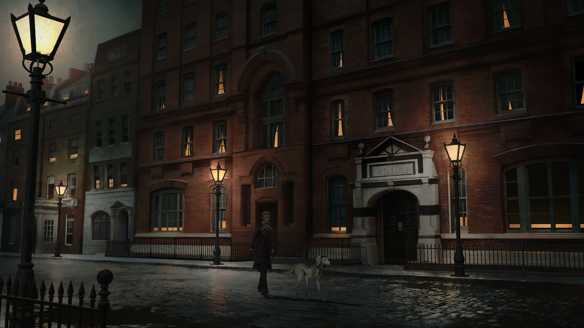 Du Lac & Fey is a mystery adventure about a pair of immortal hunters and Jack the Ripper screenshot