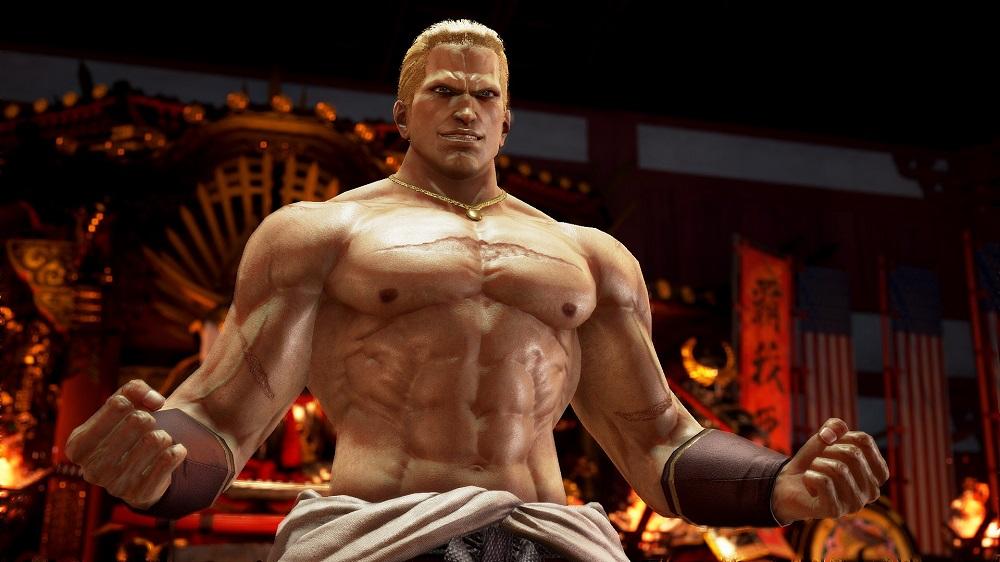 Geese Howard double reppukens into Tekken 7 tomorrow screenshot