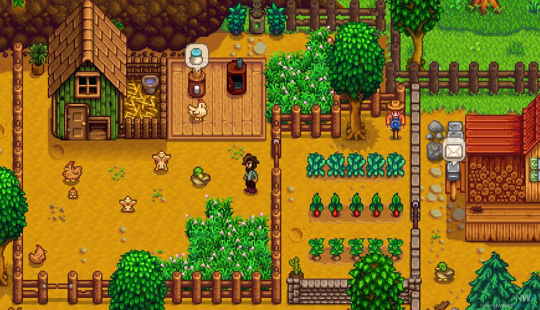 Stardew Valley on Switch is getting video capture, faster save times screenshot
