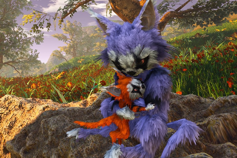New screens released for THQ Nordic's Biomutant screenshot