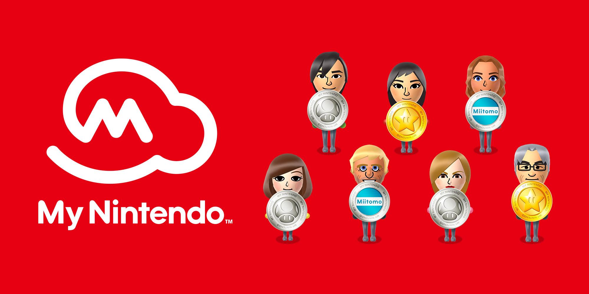 My Nintendo rewards include games again!