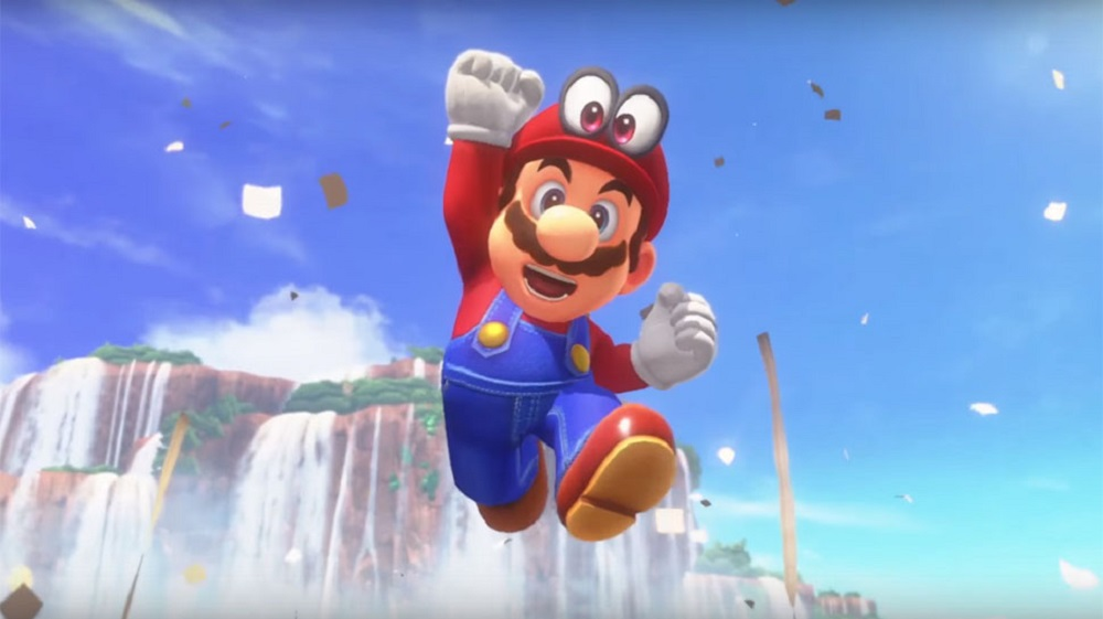 Amazon currently lists Super Mario Odyssey as their best-selling video game of 2017 screenshot