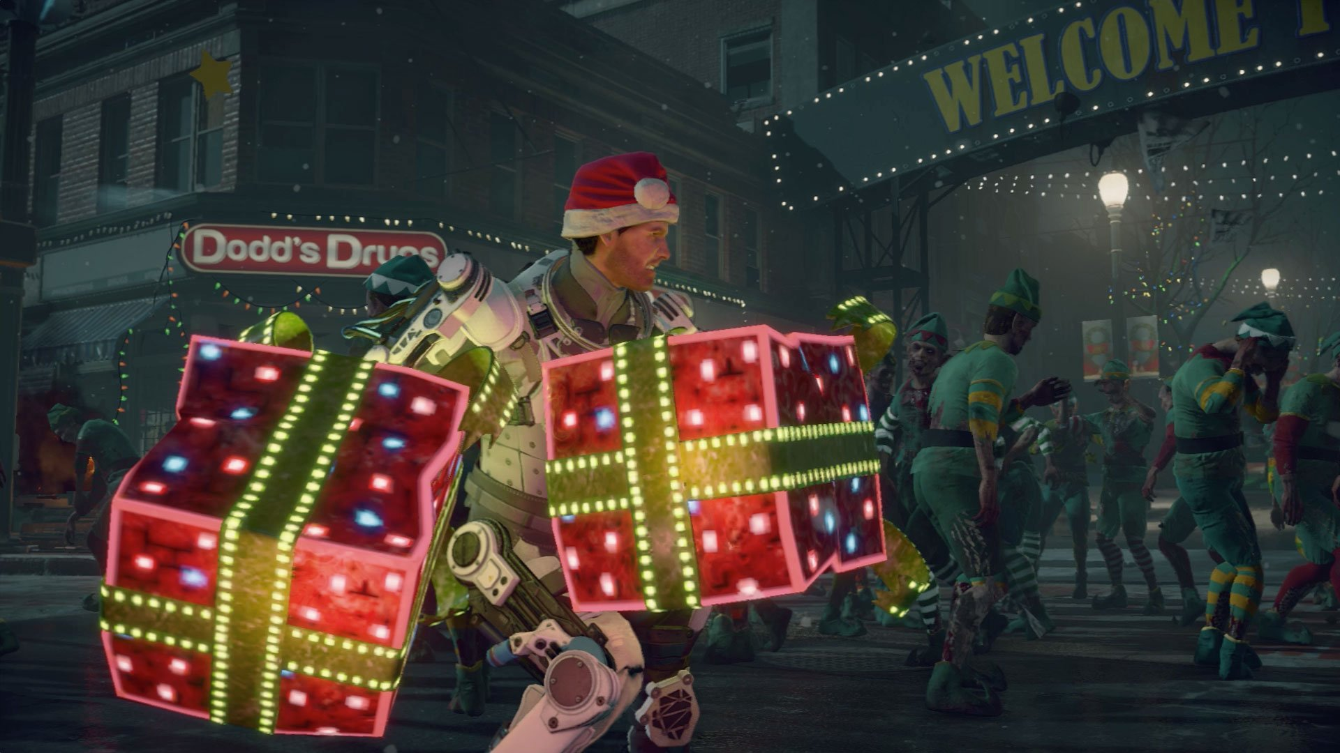Dead Rising 4: Frank's Big Package makes a 50-year-old man cosplay to survive screenshot