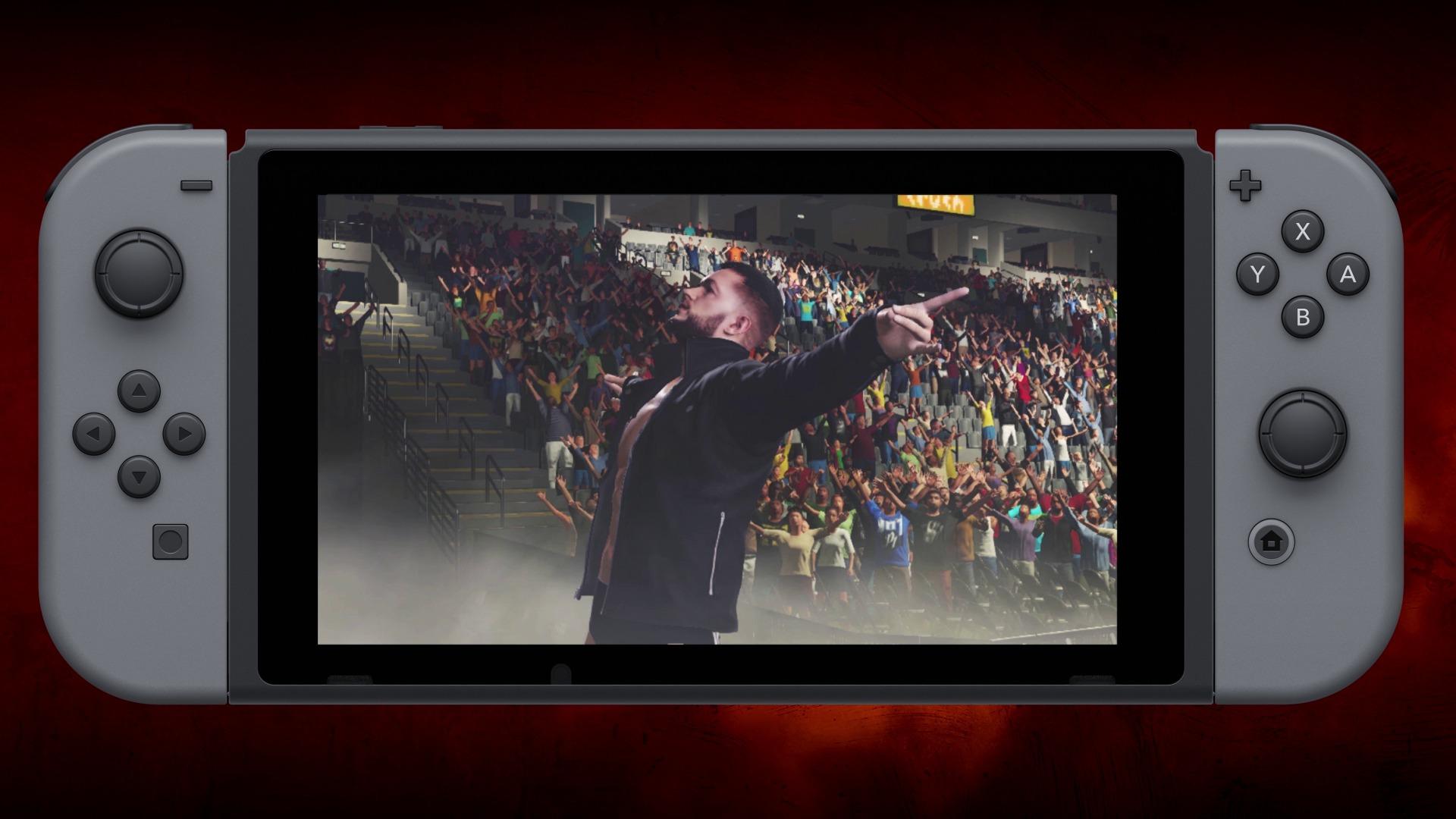WWE 2K18 on Switch will 'start' releasing December 6 screenshot