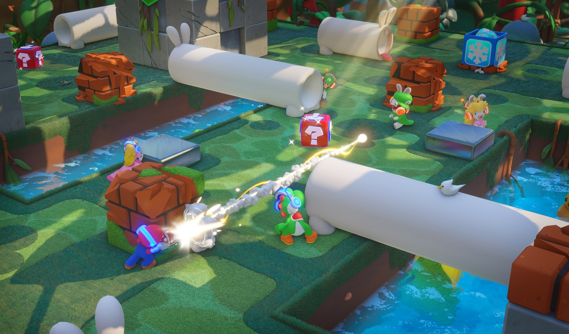 Mario + Rabbids: Kingdom Battle DLC Adds Free PvP Mode, Out Tomorrow