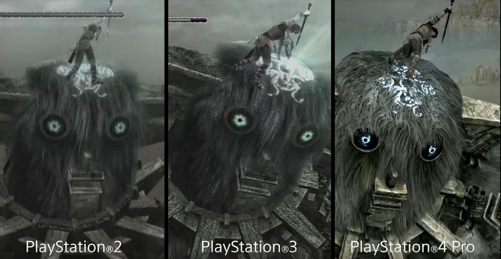 Shadow Of The Colossus Remake Gets Comparison Video And Special Edition