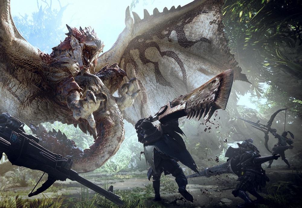 Monster Hunter: World will get new monsters after release screenshot