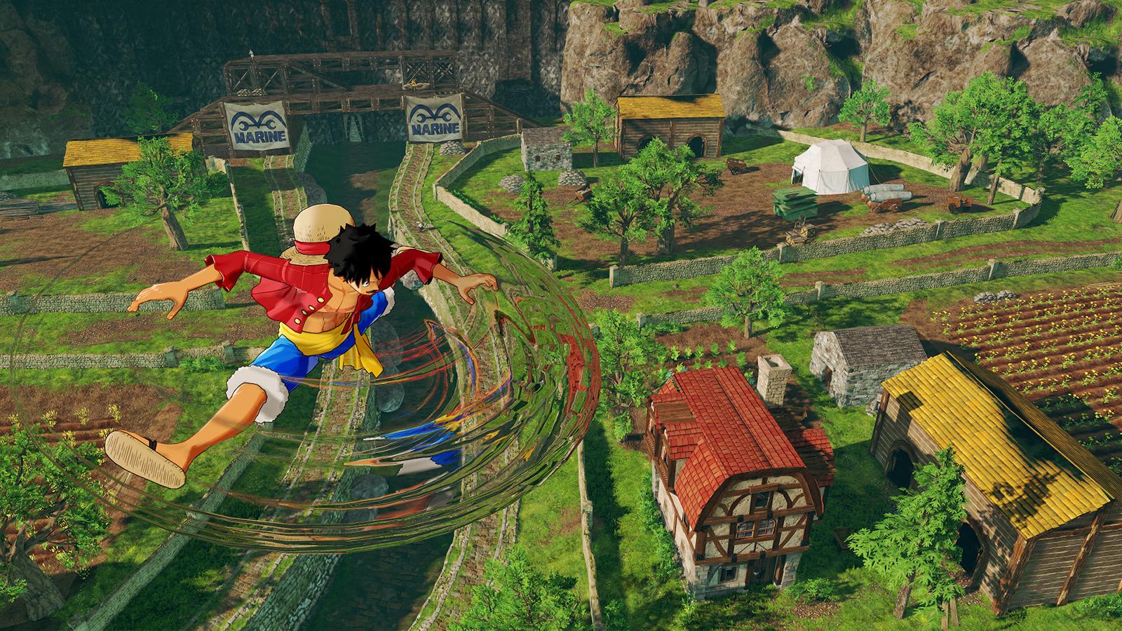 Open-world adventure One Piece: World Seeker coming next year screenshot