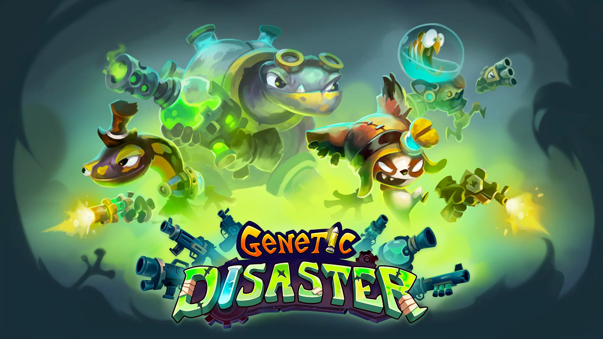 Contest: Win A Steam Key For Genetic Disaster
