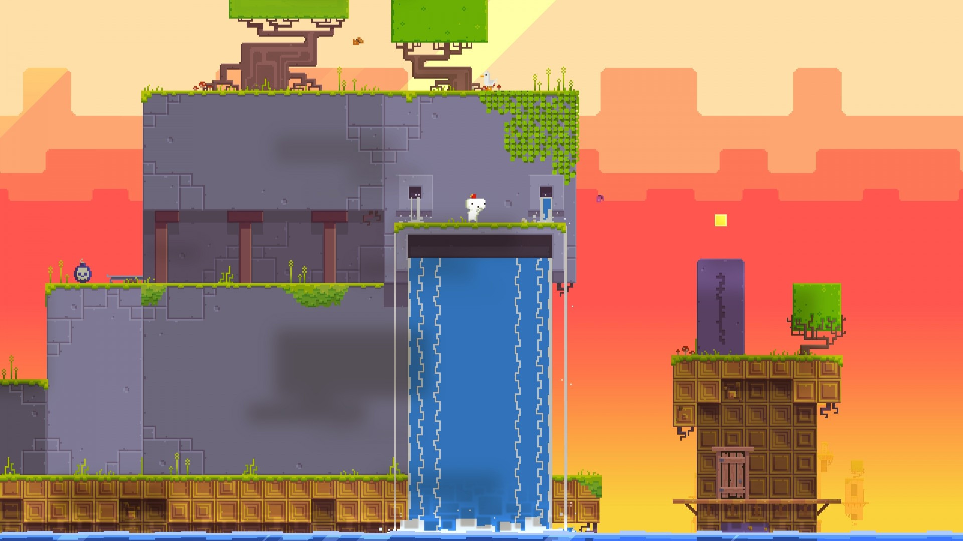 Fez is still being ported and now it's on iOS screenshot