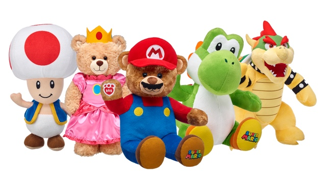 Build-A-Bear Workshop Is Getting Mario-themed Plushies
