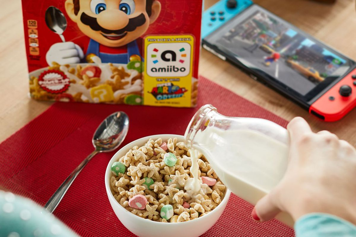 11f68ac127 Target is no longer stocking the Super Mario Cereal