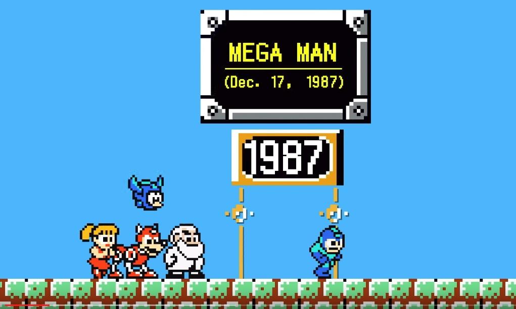 Resultado de imagen para mega man 1987