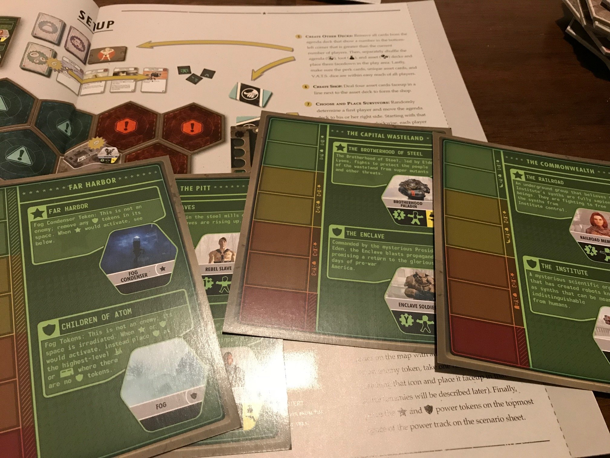 ... Lobotomy struggles to communicate its own rules to the players. Once me  and my group began playing the first listed scenario on the simplest  difficulty, ...
