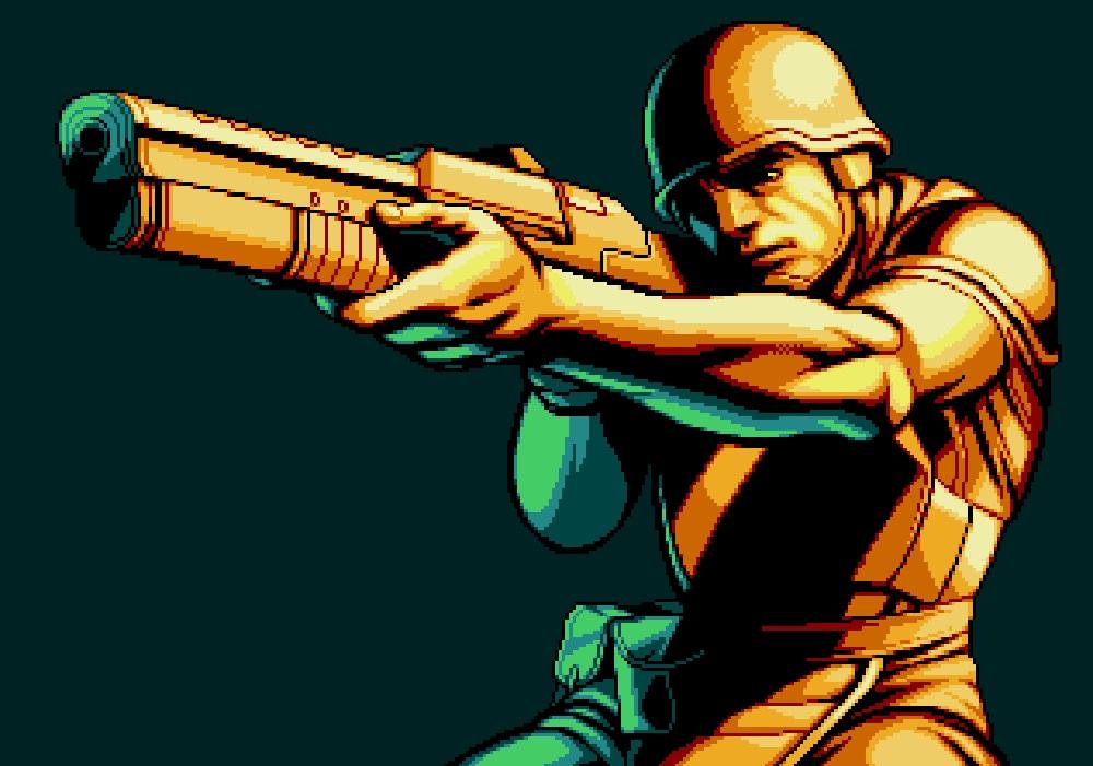 Xeno Crisis is a brand new Sega Mega Drive/Genesis game coming from British studio screenshot