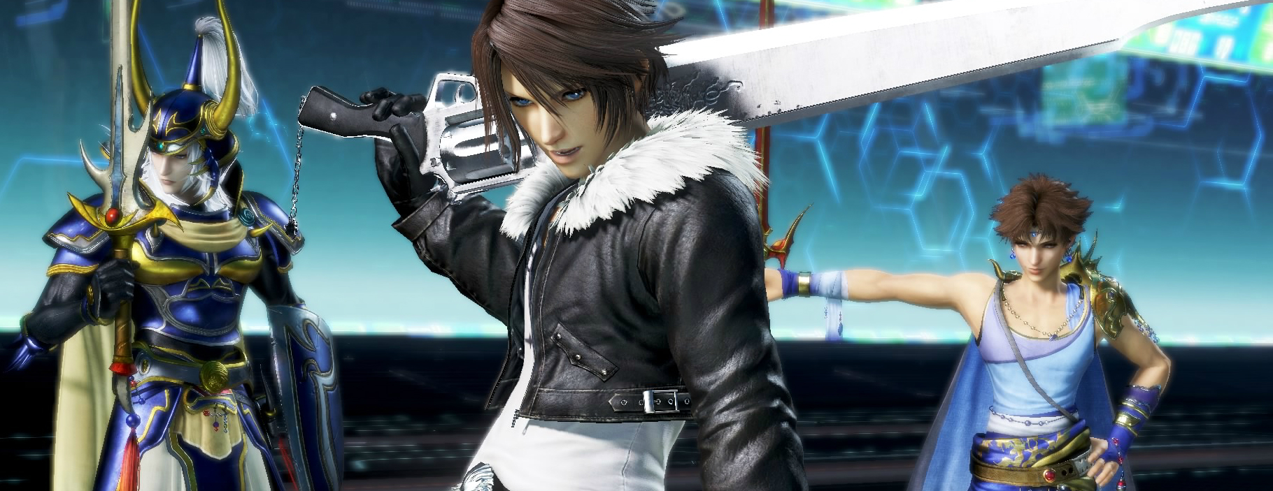 Dissidia Final Fantasy NT's open beta is coming to the west just before launch screenshot