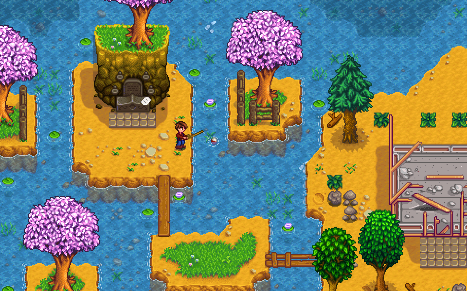 Stardew Valley will have more NPC events and a re-spec option next year screenshot