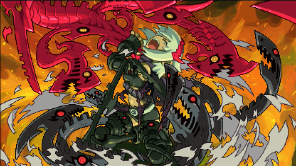 Inti Creates delays Switch action-RPG Dragon: Marked for Death screenshot