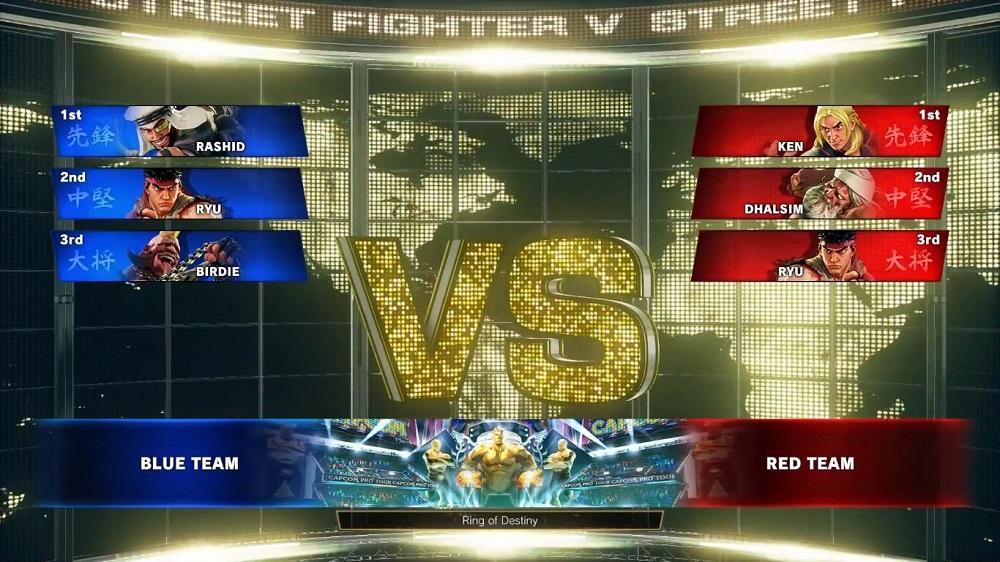 Street Fighter V: Arcade Edition to feature Team Versus mode screenshot