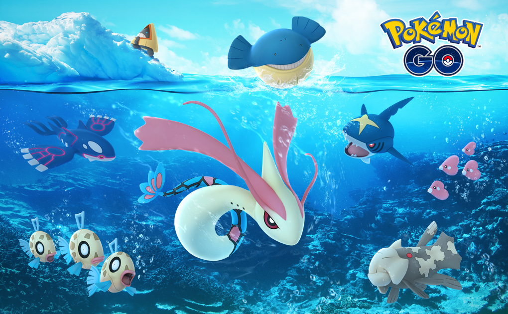 Pokemon Go's holiday event brings more Pokemon from Ruby and Sapphire screenshot