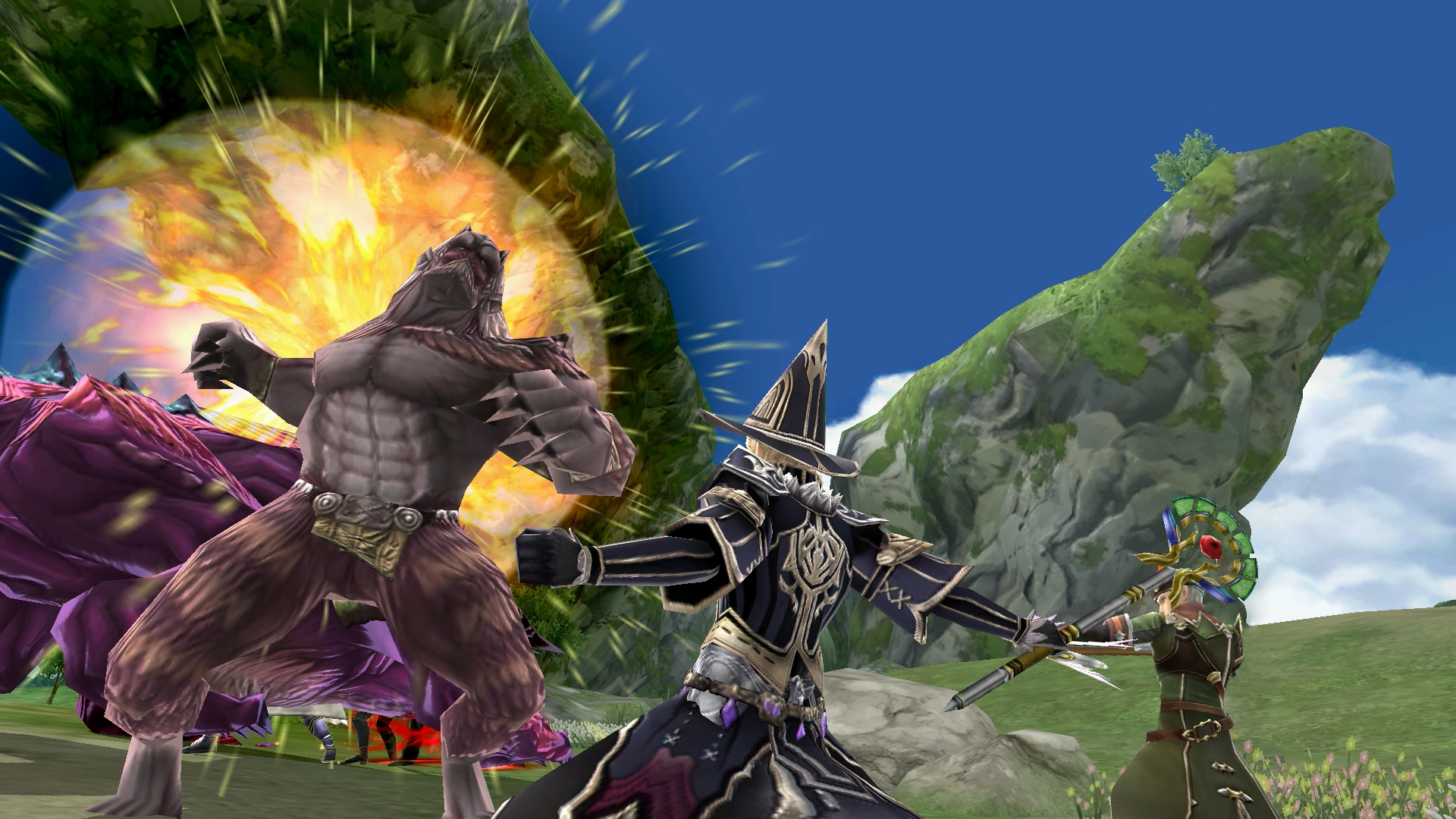 Final Fantasy Explorers-Force delayed into 2018 screenshot