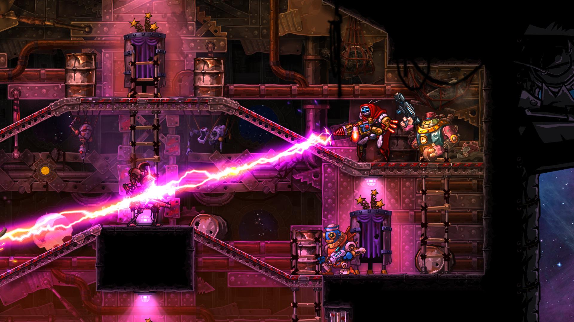 Nintendo Download: SteamWorld Heist (Switch) screenshot