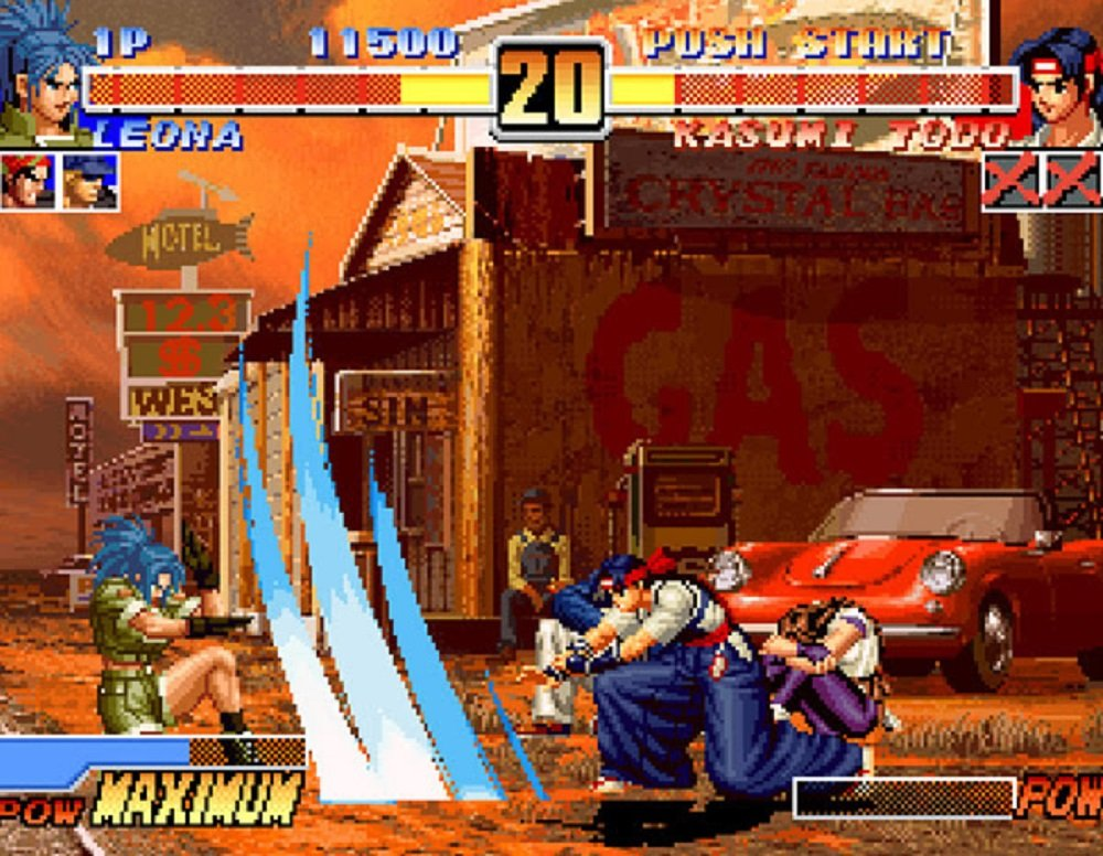 King of Fighters '96 arrives today on Nintendo Switch screenshot