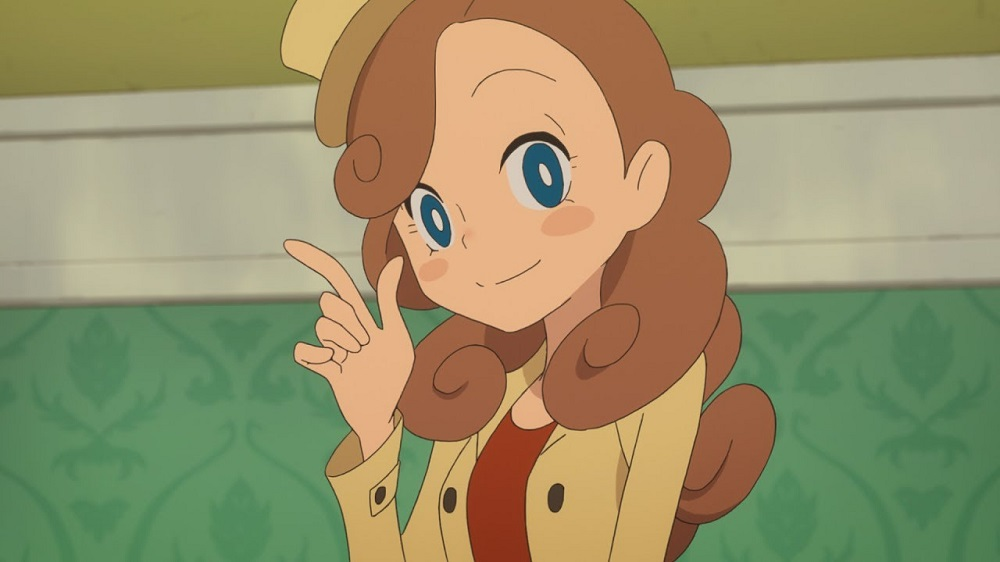 Resultado de imagen para layton mystery anime