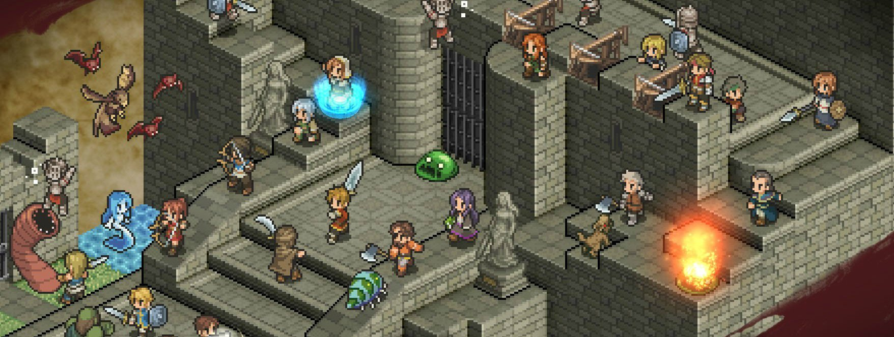 The Mercenaries Saga series is coming to Switch screenshot