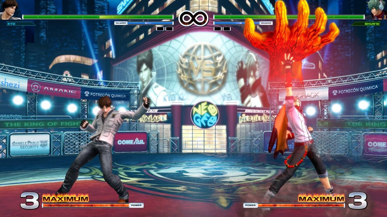 The King of Fighters XIV gameplay