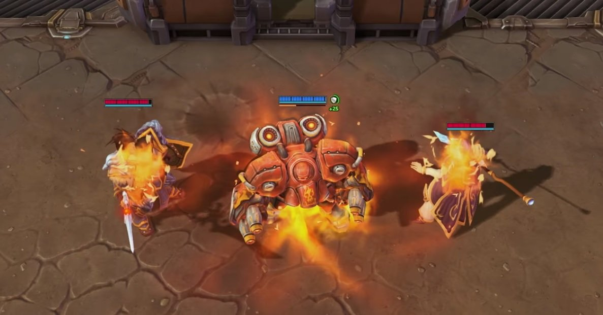 The Firebat is a complete beast in Heroes of the Storm screenshot