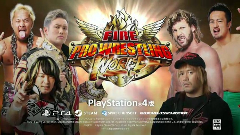 New Japan stars to officially feature in Fire Pro Wrestling World screenshot